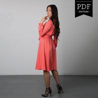 Nicola Dress by Sewaholic Patterns, View B