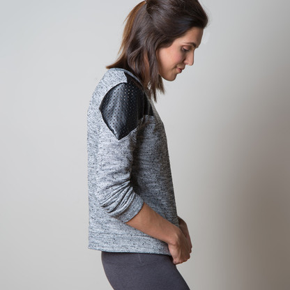 Fraser Sweatshirt by Sewaholic Patterns, View A