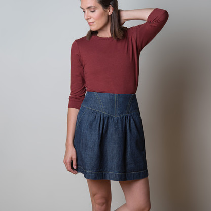 Crescent Skirt by Sewaholic Patterns, View A