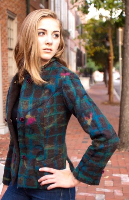 Designer's Signature - Women's Equestrian Style Merino Wool Jacket