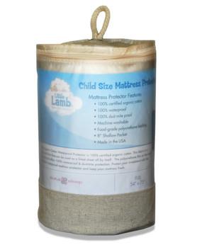 Little Lamb Waterproof Organic Cotton Protector