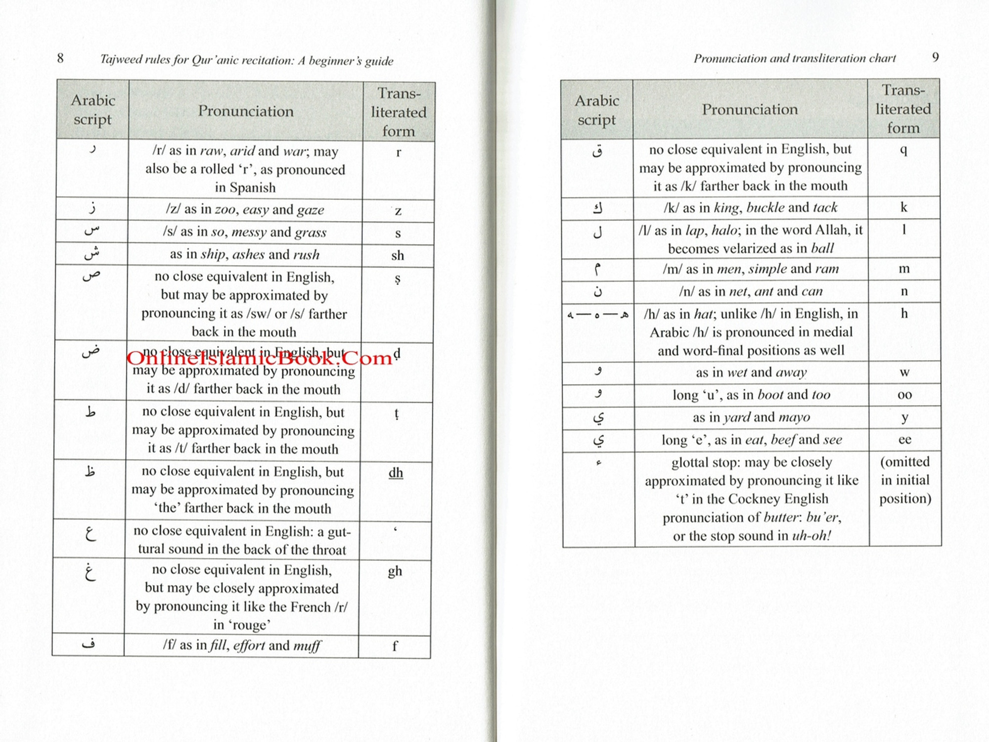 tajweed rules for beginners pdf