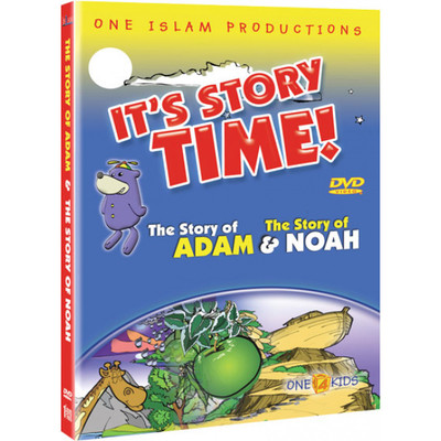 It's Story Time! The Story of Adam and The Story of Noah DVD