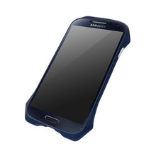 DRACO AIRBORNE Aluminum Bumper - for Samsung Galaxy S4 (Midnight Blue)