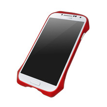 DRACO AIRBORNE Aluminum Bumper - for Samsung Galaxy S4 (Flare Red)