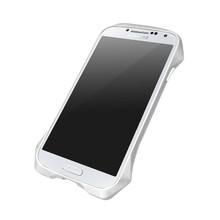 DRACO AIRBORNE Aluminum Bumper - for Samsung Galaxy S4 (Astro Silver)