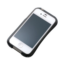 DRACO CRYSTAL Bumper - for iPhone 4/4S (Dark Black)