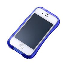 DRACO CRYSTAL Bumper - for iPhone 4/4S (Deep Blue)