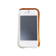 DRACO EVO Handcraft Aluminum Bumper - for iPhone 4/4S (Sonic Orange)