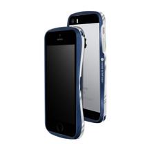 DRACO 5 Aluminum Bumper - for iPhone SE/5S/5 (Midlight Blue)