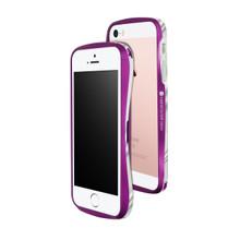 DRACO 5 Aluminum Bumper - for iPhone SE/5S/5 (Galactic Purple)