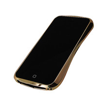 DRACO 5 Limited Aluminum Bumper - for iPhone SE/5S/5 (Luxury Gold)