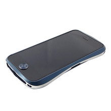 DRACO Aluminum Home Button - for iPhone 5/5S (Midnight Blue/Silver)