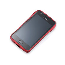 DRACO S2 Aluminum Bumper - for Samsung Galaxy S2 (Red)