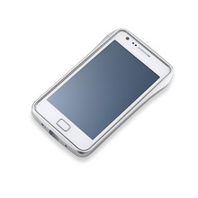DRACO S2 Aluminum Bumper - for Samsung Galaxy S2 (Silver)