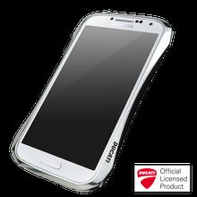 DRACO HYDRA Aluminum Bumper - for Samsung Galaxy S4 (Luxury Silver)