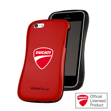 DRACO ALLURE CPDU Ultra Slim Bumper Case - for iPhone 5C (Red-2)