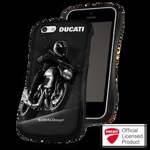 DRACO ALLURE CPDU Ultra Slim Bumper Case - for iPhone 5C (Black-1)