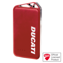 DRACOdesign x DUCATI Power bank with Aluminum Case(Red)