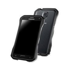 DRACO SUPERNOVA Aluminum Bumper - for Samsung Galaxy S5 (Meteor Black)