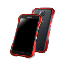 DRACO SUPERNOVA Aluminum Bumper - for Samsung Galaxy S5 (Flare Red)