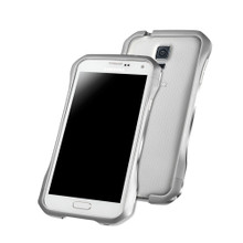 DRACO SUPERNOVA Aluminum Bumper - for Samsung Galaxy S5 (Astro Silver)
