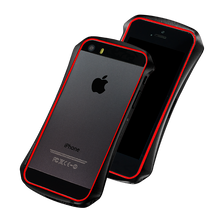 DRACO VENTARE 2 ALUMINUM BUMPER - FOR IPHONE SE/5S/5 (Meteor Black)