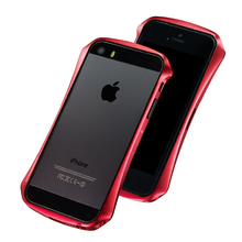 DRACO VENTARE 2 ALUMINUM BUMPER - FOR IPHONE SE/5S/5 (Flare Red)