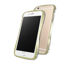 DRACO 6 ALUMINUM BUMPER - FOR IPHONE 6/6S (CHAMPAGNE GOLD)