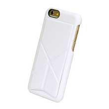 Tigris Shell Stand Case- FOR IPHONE 6/6S (WHITE)