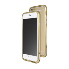 Venano Aluminum Bumper with Sound Direction Function for iPhone 6S/6 (Champagne Gold)