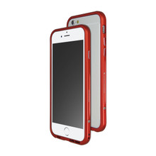 Venano Aluminum Bumper with Sound Direction Function for iPhone 6S/6 (Flare Red)