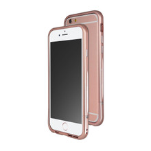 Venano Aluminum Bumper with Sound Direction Function for iPhone 6S/6 (Rose Gold)