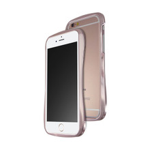 DRACO 6SX HAND POLISHING ALUMINUM BUMPER FOR IPHONE 6S/6 - LUXURY ROSE GOLD
