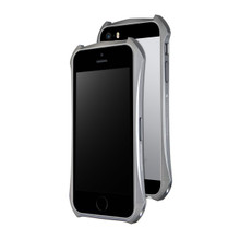 DRACO ELEMENTO ALUMINUM BUMPER FOR IPHONE SE/5S/5 - GRAPHITE GRAY