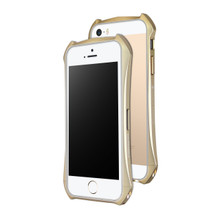 DRACO ELEMENTO ALUMINUM BUMPER FOR IPHONE SE/5S/5 - CHAMPAGNE GOLD