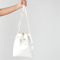 Chianti Bucket Bag Small (WHITE)