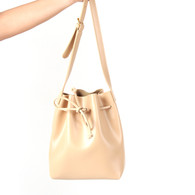 Chianti Bucket Bag Small (Lulled Beige)
