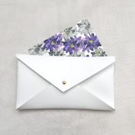Envelope Clutch White