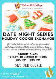 Date Night Series: Holiday Cookie Exchange
