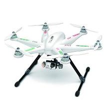 Drone Hexacóptero Walkera, con Remoto DEVO F12E, Gimbal G-3D y Cable GoPro
