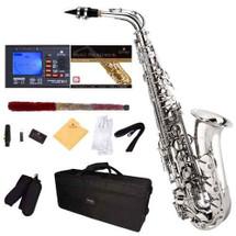 Saxofón Mendini Cecilio Recto Niquel Alto - Envío Gratis