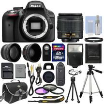 Nikon D3300 + 18-55mm +2 Lentes + 16gb +14 Accesorios