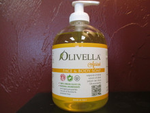 Olivella Apricot Face & Body Soap: For everyday skin care, exerts a nourishing, emollient and soothing action on the skin. Dermatologically tested. Natural soap with 100% Virgin Olive Oil.    Scent of Apricot.