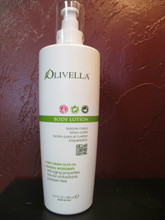Olivella Body Lotion:  Apply everyday to body skin, gently massage.  It is easily absorbed and leaves your skin elasticized and moisturized. No dyes or animal fats. Paraben free. (Product of Italy)