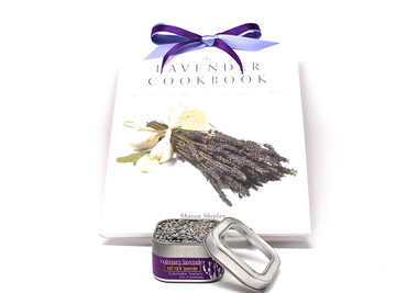 Cookbook with Culinary Lavender Set
