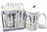Lavender Motif Mug with Packaging