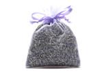 Lavender-Filled Sachet - Lavender Organza Fabric