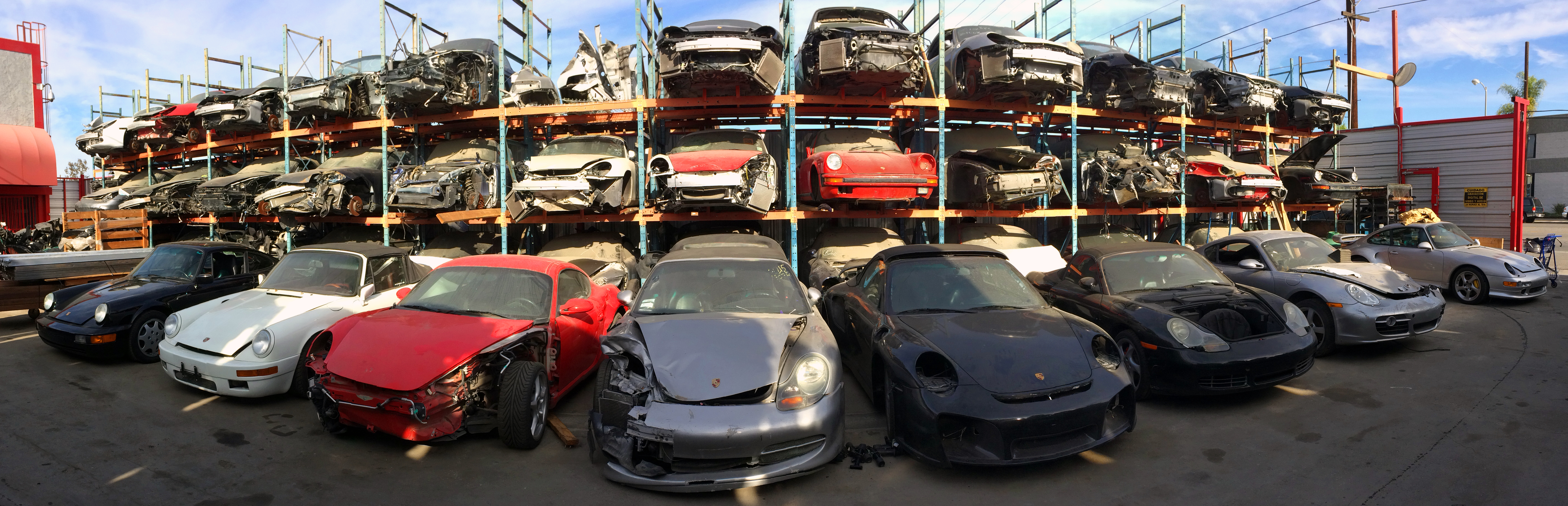 Los Angeles Dismantler Used Porsche Parts For 911