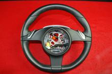 Porsche 911 987 997 PDK Steering wheel Black Leather 3 Spoke 997.347.803.65